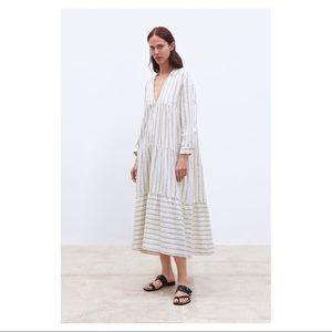 Zara Striped Print Dress